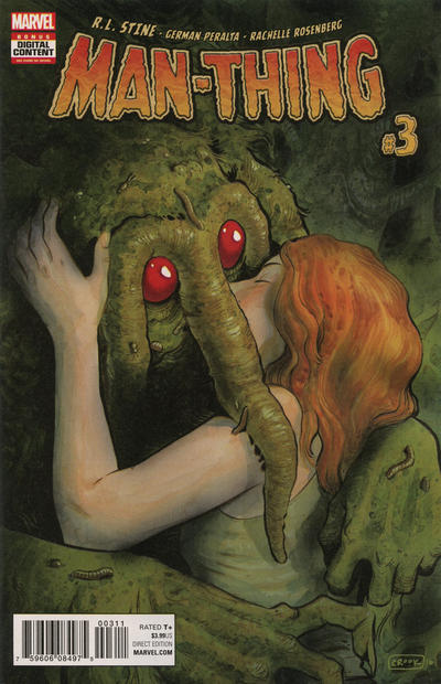 Cover for Man-Thing (Marvel, 2017 series) #3 [Incentive Leonard Kirk Variant]