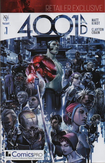 Cover for 4001 A.D. (Valiant Entertainment, 2016 series) #1 [Japanese Language Time Capsule Variant]