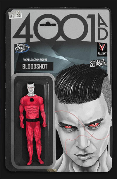 Cover for 4001 A.D. (Valiant Entertainment, 2016 series) #3 [Cover F - Ryan Lee]