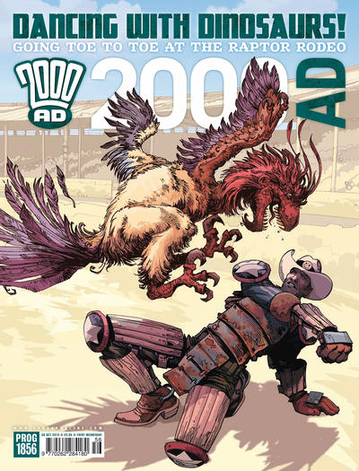 Cover for 2000 AD (Rebellion, 2001 series) #1856
