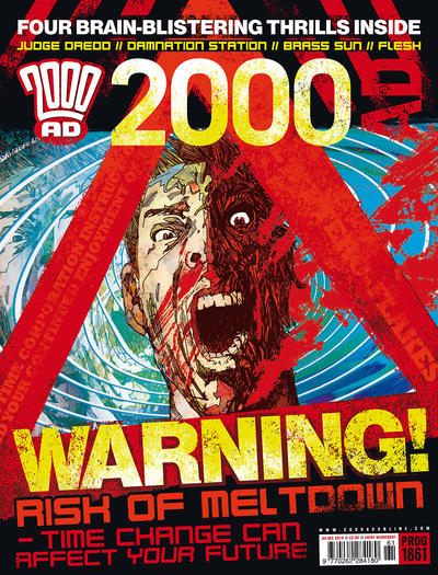 Cover for 2000 AD (Rebellion, 2001 series) #1861