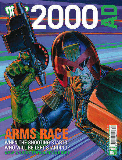 Cover for 2000 AD (Rebellion, 2001 series) #1879