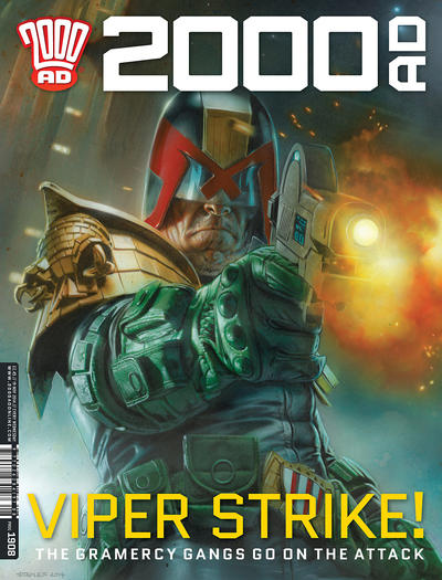 Cover for 2000 AD (Rebellion, 2001 series) #1908