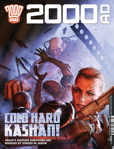 Cover for 2000 AD (Rebellion, 2001 series) #1943