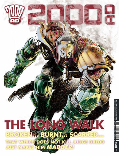 Cover for 2000 AD (Rebellion, 2001 series) #1945