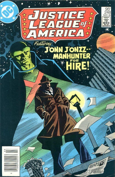 Cover for Justice League of America (DC, 1960 series) #248 [Direct Edition]