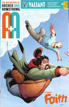 Cover for A&A: The Adventures of Archer & Armstrong (Valiant Entertainment, 2016 series) #5 [Cover F - Pere Pérez]