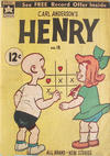 Cover for Carl Anderson's Henry (Yaffa / Page, 1965 ? series) #18