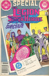 Cover for Legion of Substitute Heroes Special (DC, 1985 series) #1 [Canadian]