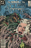 Cover for The Saga of Swamp Thing (DC, 1982 series) #30 [Canadian Newsstand]