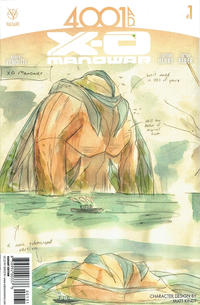 Cover Thumbnail for 4001 A.D.: X-O Manowar (Valiant Entertainment, 2016 series) #1 [Cover C - Matt Kindt]