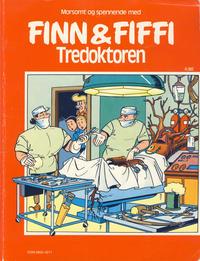 Cover Thumbnail for Finn & Fiffi (Skandinavisk Presse, 1983 series) #4/1986 - Tredoktoren