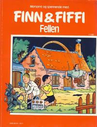 Cover Thumbnail for Finn & Fiffi (Skandinavisk Presse, 1983 series) #11/1986 - Fellen
