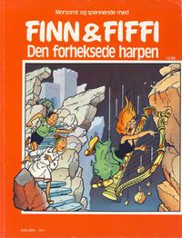 Cover Thumbnail for Finn & Fiffi (Skandinavisk Presse, 1983 series) #12/1986 - Den forheksede harpen