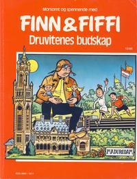 Cover Thumbnail for Finn & Fiffi (Skandinavisk Presse, 1983 series) #13/1986 - Druvitenes budskap