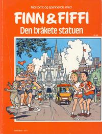 Cover Thumbnail for Finn & Fiffi (Skandinavisk Presse, 1983 series) #14/1986 - Den bråkete statuen