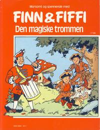 Cover for Finn & Fiffi (Skandinavisk Presse, 1983 series) #17/1986 - Den magiske trommen