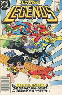 Cover Thumbnail for Legends (DC, 1986 series) #6 [Canadian]