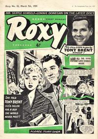 Cover Thumbnail for Roxy (Amalgamated Press, 1958 series) #52