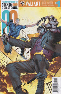 Cover Thumbnail for A&A: The Adventures of Archer & Armstrong (Valiant Entertainment, 2016 series) #1 [Cover C - Trevor Hairsine]