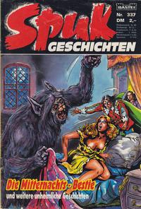 Cover Thumbnail for Spuk Geschichten (Bastei Verlag, 1978 series) #337