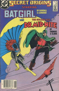 Cover Thumbnail for Secret Origins (DC, 1986 series) #20 [Canadian]