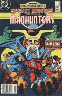 Cover Thumbnail for Secret Origins (DC, 1986 series) #22 [Canadian]