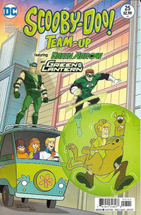 Cover Thumbnail for Scooby-Doo Team-Up (DC, 2014 series) #25 [Direct Sales]