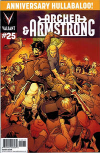 Cover Thumbnail for Archer and Armstrong (Valiant Entertainment, 2012 series) #25 [Cover C - Pere Pérez]