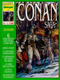 Cover Thumbnail for Conan Saga (Comic Art, 1993 series) #1
