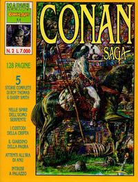 Cover Thumbnail for Conan Saga (Comic Art, 1993 series) #2