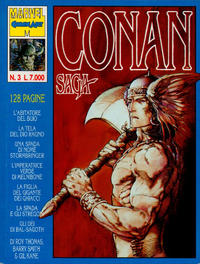 Cover Thumbnail for Conan Saga (Comic Art, 1993 series) #3