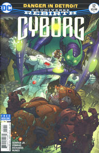 Cover Thumbnail for Cyborg (DC, 2016 series) #12 [Will Conrad Cover]