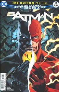 Cover Thumbnail for Batman (DC, 2016 series) #21 [Jason Fabok Nonlenticular Variant]