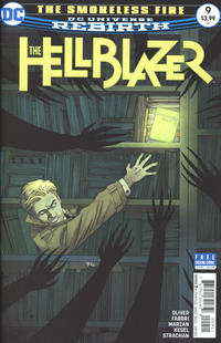Cover Thumbnail for Hellblazer (DC, 2016 series) #9 [Declan Shalvey Cover Variant]