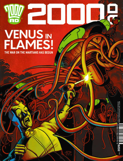 Cover for 2000 AD (Rebellion, 2001 series) #2028