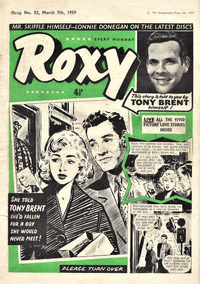 Cover for Roxy (Amalgamated Press, 1958 series) #52