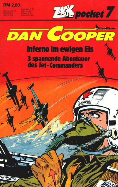 Cover for Zack Pocket (Koralle, 1980 series) #7 - Dan Cooper - Inferno im ewigen Eis