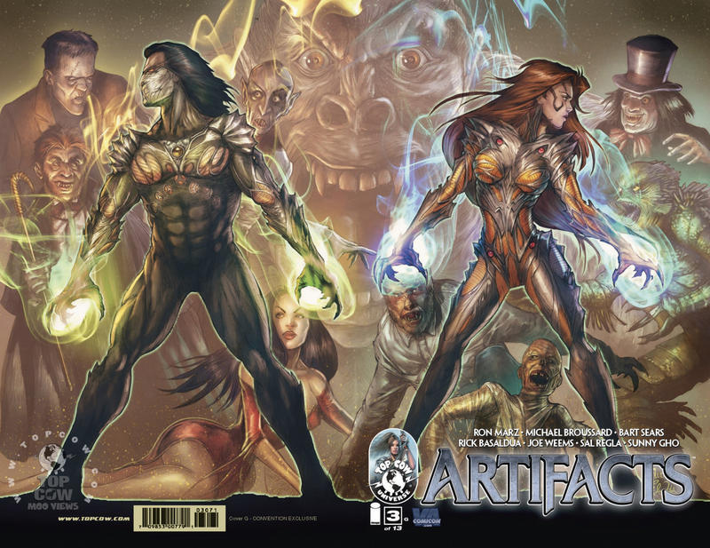 Cover for Artifacts (Image, 2010 series) #3 [Cover D]