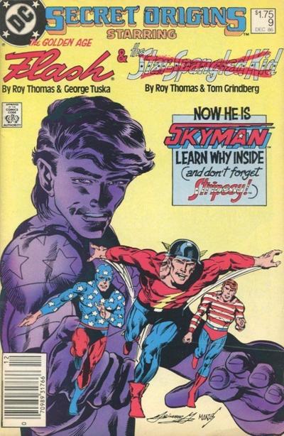 Cover for Secret Origins (DC, 1986 series) #9 [Canadian]