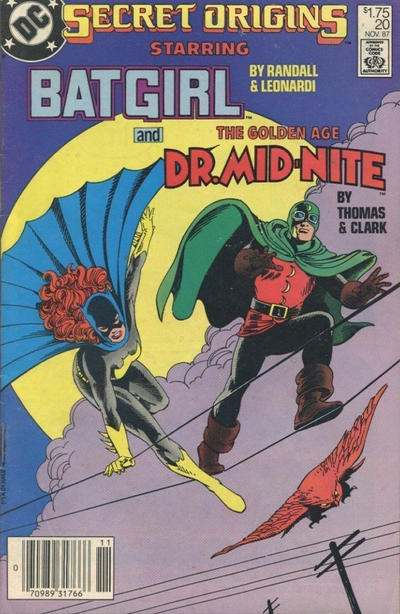 Cover for Secret Origins (DC, 1986 series) #20 [Direct Sales]