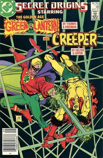 Cover for Secret Origins (DC, 1986 series) #18 [Direct]