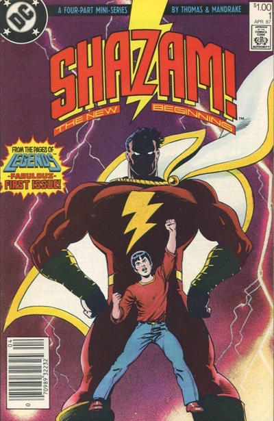 Cover for Shazam: The New Beginning (DC, 1987 series) #1 [Direct]