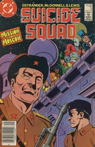 Cover for Suicide Squad (DC, 1987 series) #5 [Direct Sales]