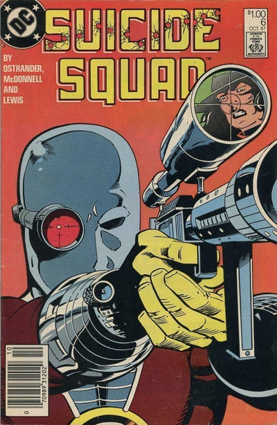 Cover for Suicide Squad (DC, 1987 series) #6 [Direct Edition]