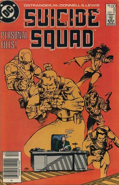 Cover for Suicide Squad (DC, 1987 series) #8 [Direct Sales]