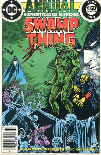 Cover for Swamp Thing Annual (DC, 1985 series) #2 [Direct]
