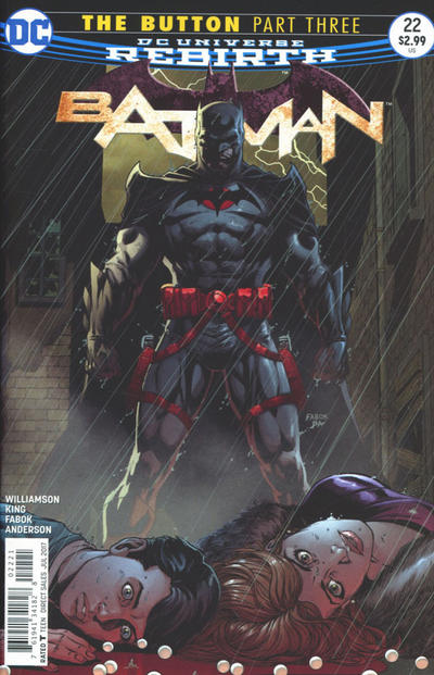 Cover for Batman (DC, 2016 series) #22 [Tim Sale Cover Variant]