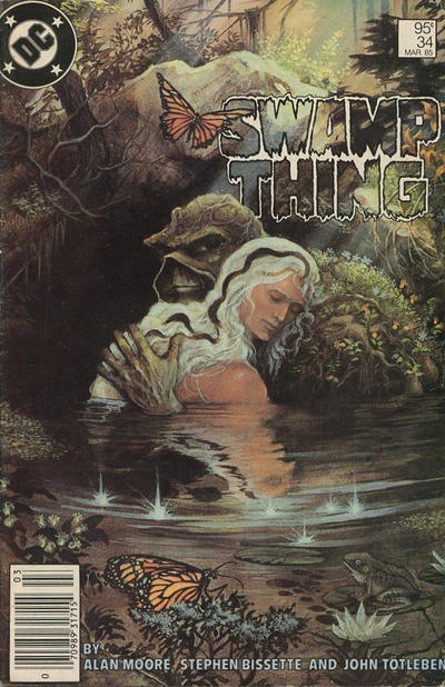 Cover for The Saga of Swamp Thing (DC, 1982 series) #34 [Direct]