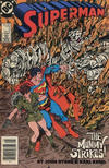 Cover for Superman (DC, 1987 series) #5 [Canadian Newsstand]